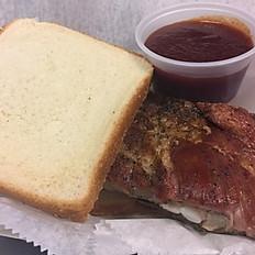 Double Decker Rib Sandwich