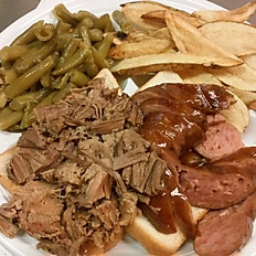 Combination BBQ Plate