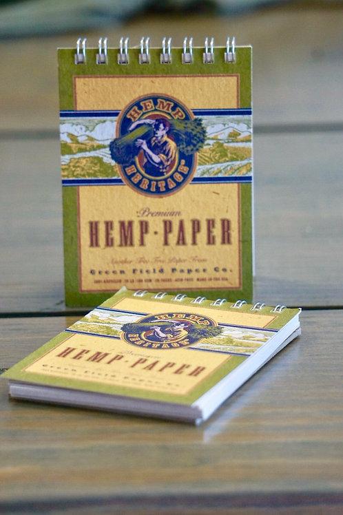 HEMP PAPER NOTEBOOK-MINI
