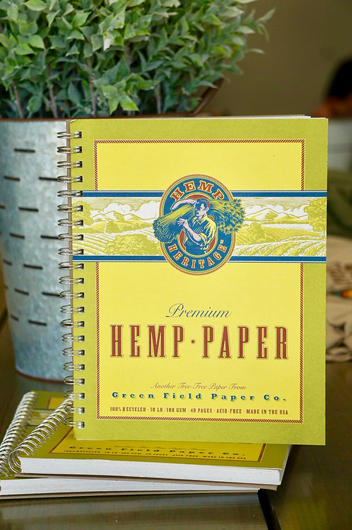 HEMP NOTEBOOK- JUMBO