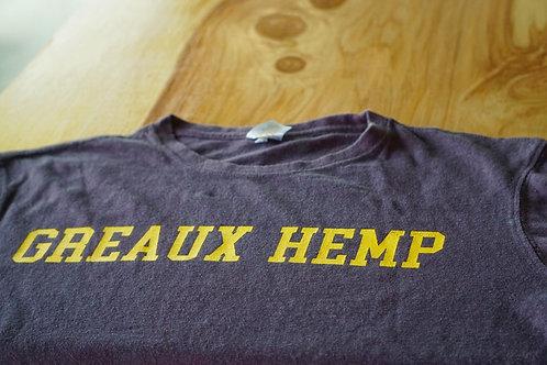GREAUX HEMP  T-SHIRT