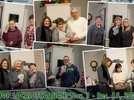 Keep Your Customers #IssaquahLoyal with the Chamber's Shop Local Campaign