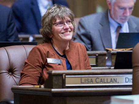 Get to Know Your Elected Official: Lisa Callan, WA State House of Representatives, 5th District