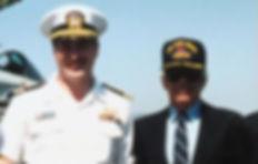Bill Goss and Ralph Lauren