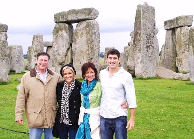 Bill Goss at Stonehenge