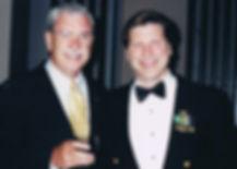 Keynote speaker Bill Goss and Admiral Kevin Delaney
