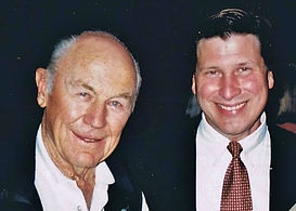 Bill Goss and Chuck Yeager
