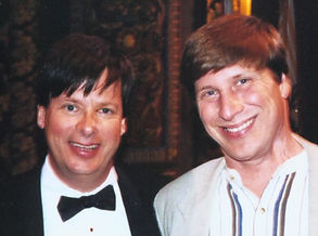 Keynote speaker Bill Goss and Dave Barry