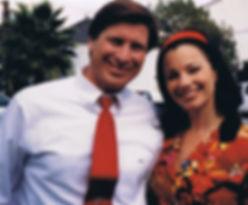 Speaker Bill Goss and Fran Dresher