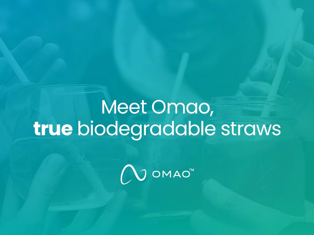 Biodagradable Straws | Omao Straws | New York