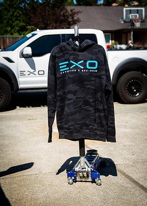 EXO Black Camo Hoodie