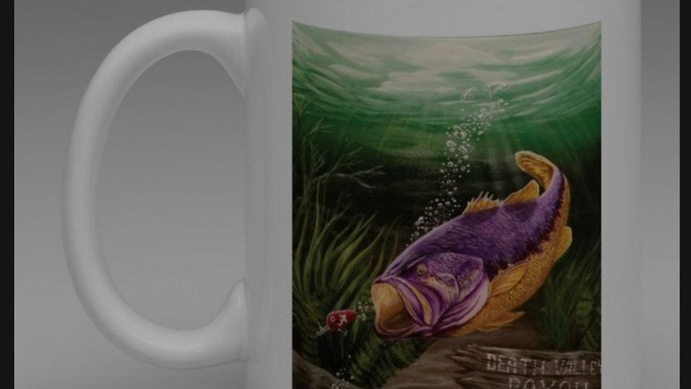 """Bayou Bengal"" 11 oz. Coffee Mug"