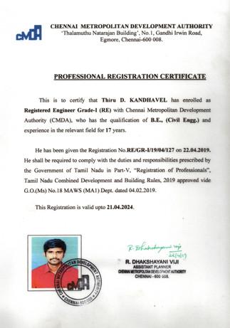 Registered Grade - 1 Engineer