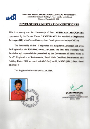 Registered Developer