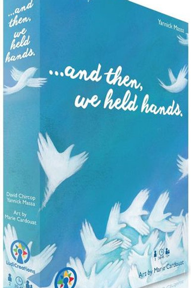 And then we held hands