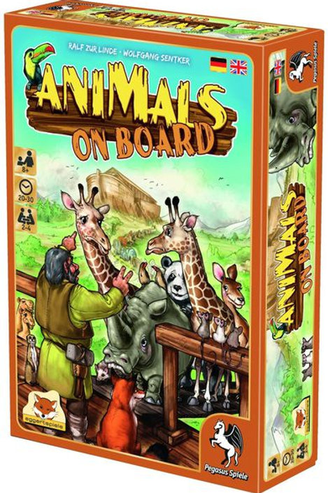 Animals on boards