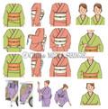 着物の基本 着付けと帯結び(主婦の友社発行)