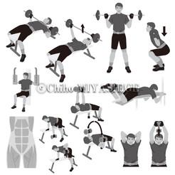 奇跡が起きる筋肉トレーニング(PHP研究所発行)