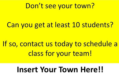 Your Town Project Management Boot Camp (Contact Us to Schedule)