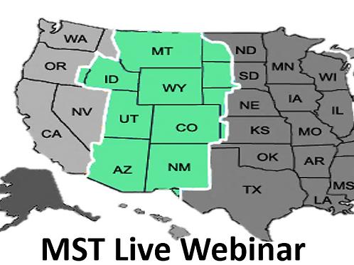 MST Live Webinar PMP/CaPM Bootcamp