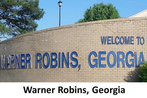 Warner Robins, GA (near Robins AFB, GA)