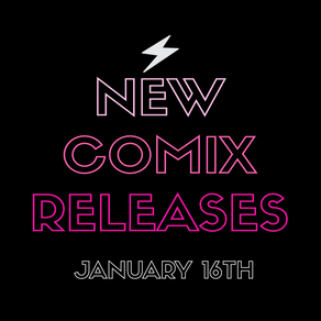 January 16th New Comix!!!