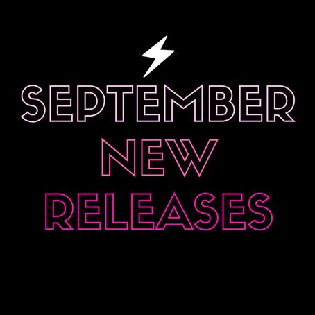 September New Releases!!!