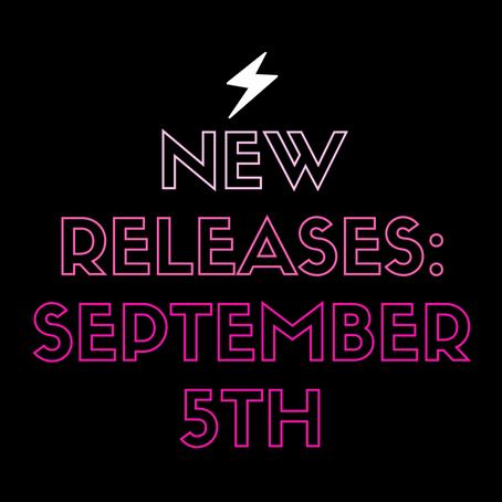 September 5th Releases!!