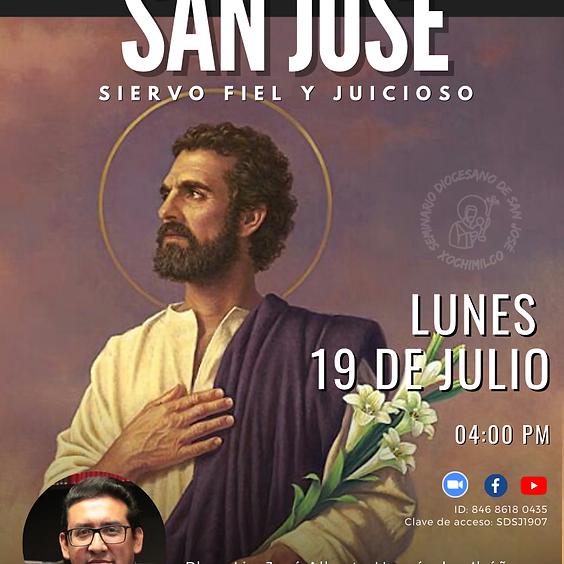 """Conferencia """"San  José  Siervo Fiel y Juicioso"""""""