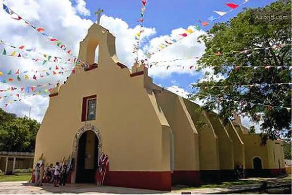 Parroquia de San Joaquín Bacalar
