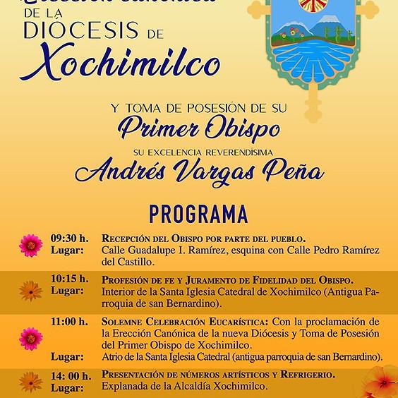 Erección Canónica de la Diócesis de Xochimilco