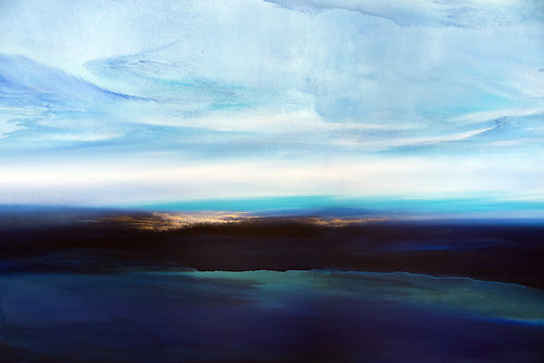mare, terra impasta una luce sovrana