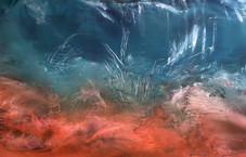 come le onde scrivono sul fondo del mare