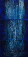 gocce dei miei sogni - vertical triptych