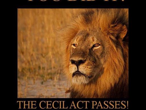 Cecil we Salute!