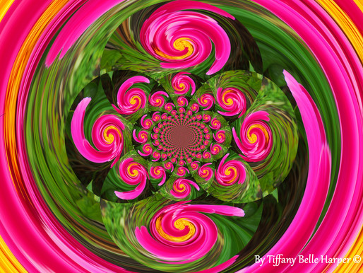 Queenie Bumble Mandala by Tiffany Belle Harper #Photography