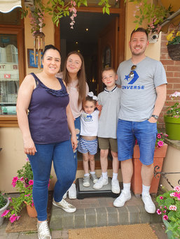 Family Holiday at Golden Sands Blackpool