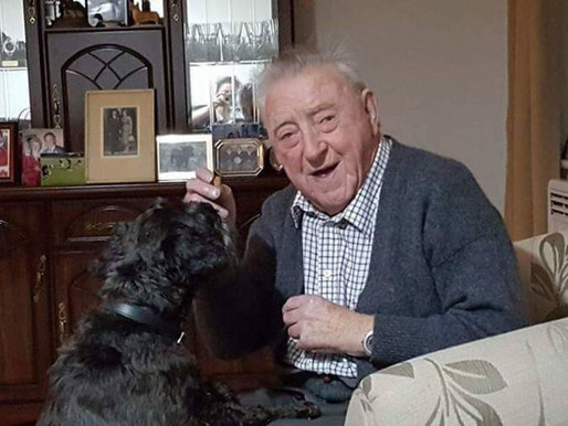 """""""campaigning to support 87 year old Bob Harvey, thrown out of a private 'Care' Home once"""