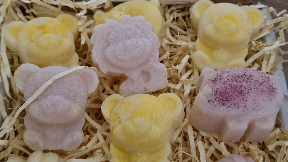 10 LARGE ANIMALS - Seductive Sugar Plum and Rose Gold Mystical Parfum  Wax Melts