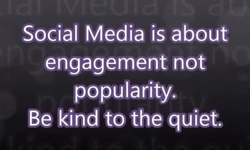 Social Media is About Engagement NOT Popularity.  Tiffany Belle Harper