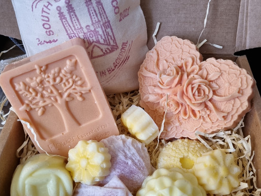 Coming Soon! Bestie Pamper Box by South Shore Soap Company