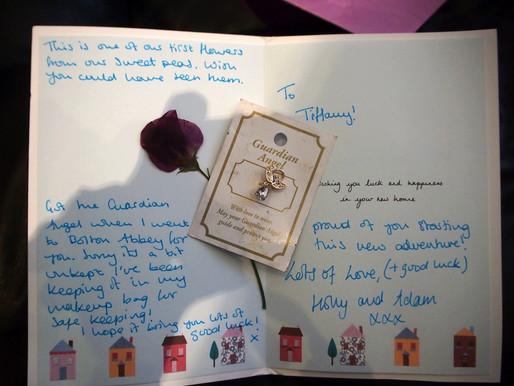 Dear Holly and Adam I.L.U. so much
