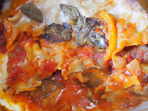Vegetable Lasagne #homemade with #love and then some apples from the garden! #diary #vegetarian