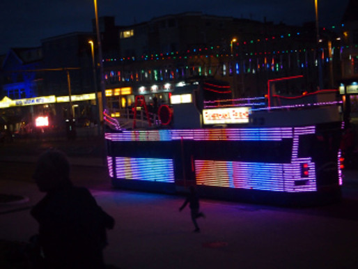 Ride the Lights – Blackpool Promenade 2018 pics by TBH©