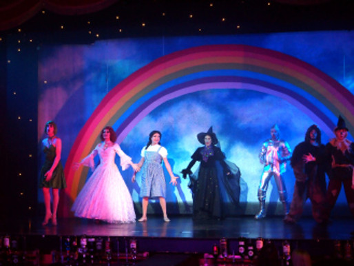 Funny Girls Blackpool – March 2nd – 2017 -Wizard of Oz #review