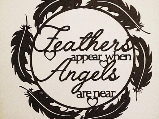 the feather and paper (true story)