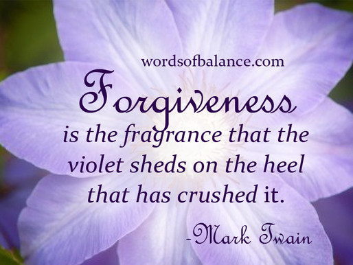'Forgiveness' by Tiffany Belle Harper