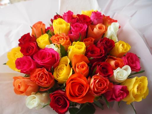 beautiful flowers #diary overwhelmed.