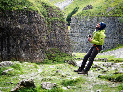 Dare Devils at Gordale Scar – North #Yorkshire UK #photography by Tiffany Belle Harper