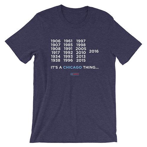 "CHIASPORA ""It's A Chicago Thing: Championship Years"" T-Shirt"